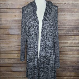 Sparrow Anthro Oversized Open Tunic Cardigan